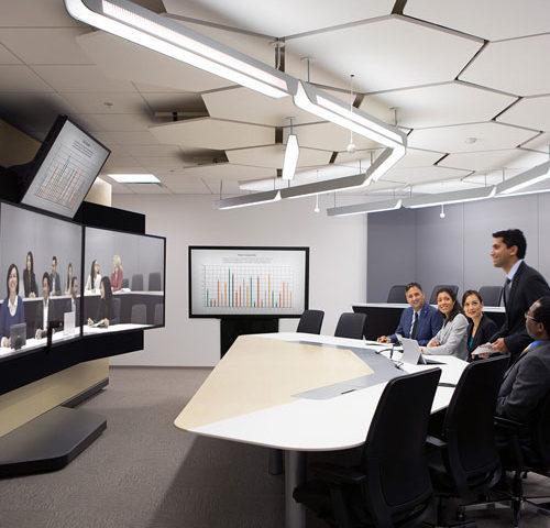 Salas de juntas inteligentes con sistemas de automatizacion
