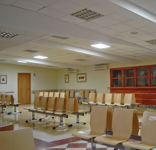 SOLATUBE para hospitales