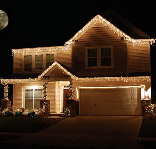 hogar inteligente en Navidad