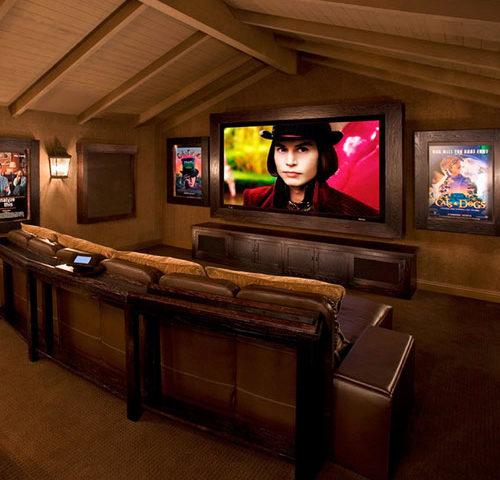 Cine en casa en vacaciones